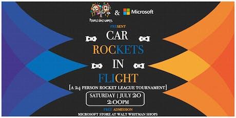 PLG & Microsoft present: 'Car Rockets in Flight: a ROCKET LEAGUE TOURNEY'  tickets