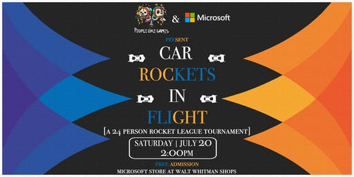 PLG & Microsoft present: 'Car Rockets in Flight: a ROCKET LEAGUE TOURNEY'