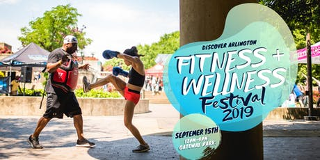 Discover Arlington Fitness + Wellness Festival - Fall 2019  tickets