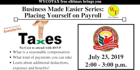 Business Made Easier: Placing Yourself on Payroll tickets