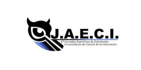 1° Jornada Argentina de Estudiantes Universitarios de Ciencias de la Información entradas