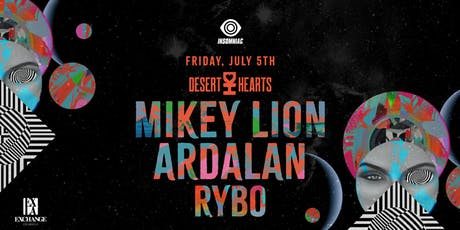 Mikey Lion and Ardalan tickets