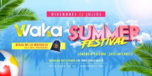WAKA SUMMER FESTIVAL - (FESTIVAL 16)