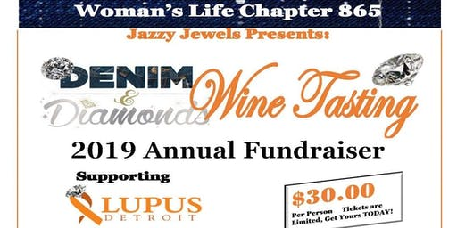 Woman's Life Chapter 865 Jazzy Jewels 4th Annual Denim & Diamonds Wine Tasting