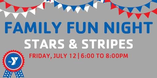 Stars & Stripes Family Fun Night
