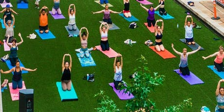 Free Outdoor Yoga : IC Courtyard Rec tickets