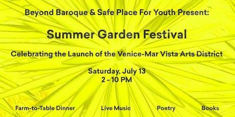 Summer Garden Festival tickets