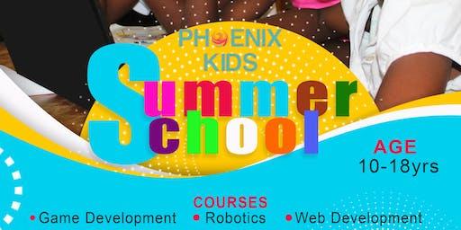 Phoenix Kids Robotics and Web Development