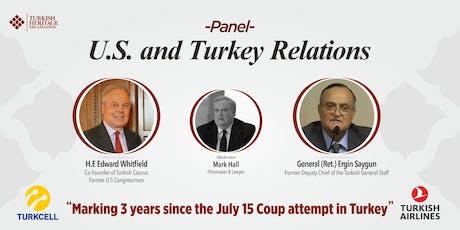 U.S.-Turkey Relations  tickets