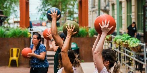 Free Outdoor Dance Cardio: IC Courtyard Rec