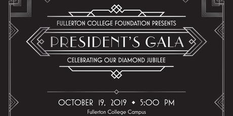 2019 Fullerton College President's Gala tickets
