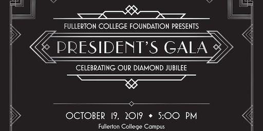 2019 Fullerton College President's Gala