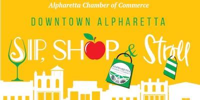 Sip, Shop, & Stroll Downtown Alpharetta Back to School