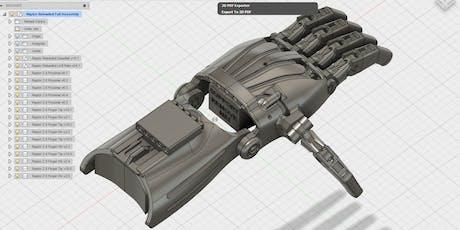 Taller de modelado 3D orientado a la fabricación: Fusion 360° entradas