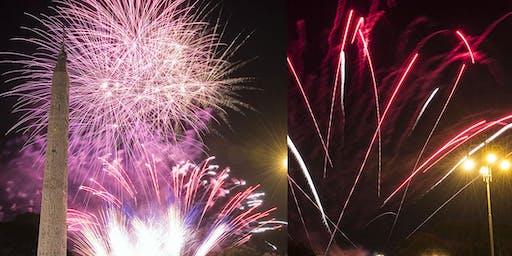 Rievocazione Storica della Girandola di Roma - Fuochi d'Artificio a Piazza del Popolo