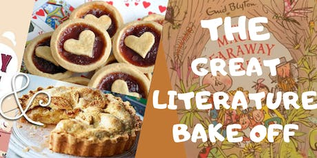 GREAT LITERATURE BAKE OFF tickets