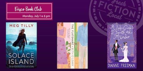 Frisco Book Club at La Madeleine 121 tickets