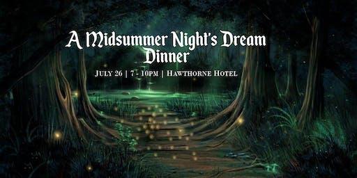 A Midsummer Night's Dream Dinner