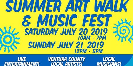 Colors by the Sea Summer Art Walk & Music Fest tickets
