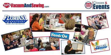 Floriani Hands-On Sewing, Embroidery, Quilting Event | Dania Beach, FL tickets