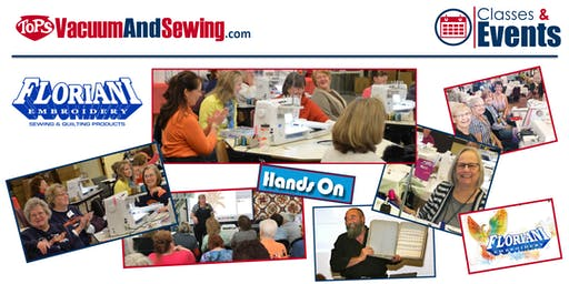 Floriani Hands-On Sewing, Embroidery, Quilting Event | Bradenton, FL