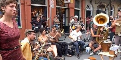 Tuba Skinny- New Orleans' top traditional jazz band in concert