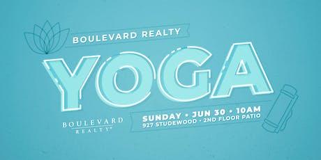 Boulevard Yoga Sunday tickets