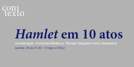 Hamlet em 10 atos ingressos