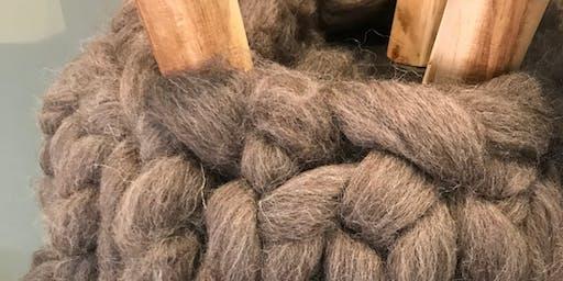 Workshop Krukje breien met XXL wol