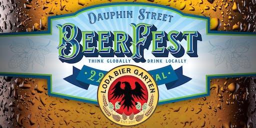 Dauphin Street BeerFest 2019 at Loda Bier Garten