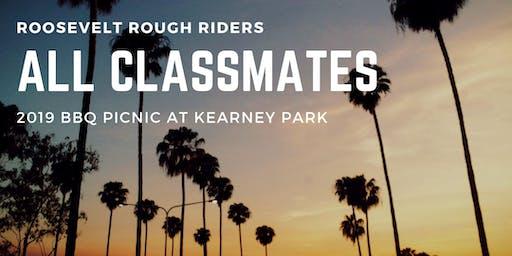 Roosevelt Rough Riders All Classmates 2019 BBQ Picnic