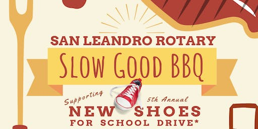 Rotary San Leandro New Shoes for School BBQ