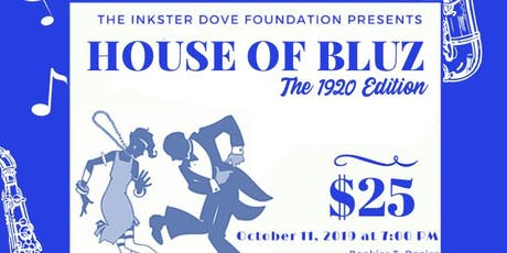 House of Bluz - The 1920 Edition tickets