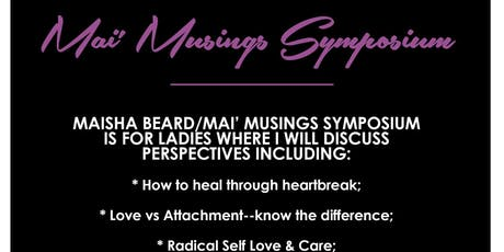Mai' Musings Symposium tickets