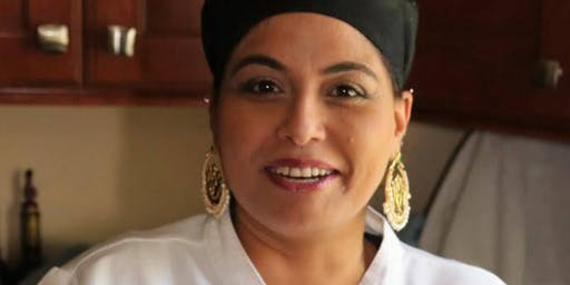 Edible Queens Cooking Demo at Cunningham Park