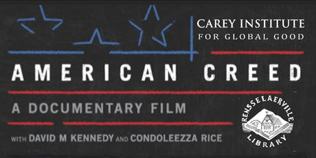 FREE Public Screening & Community Conversation: American Creed tickets