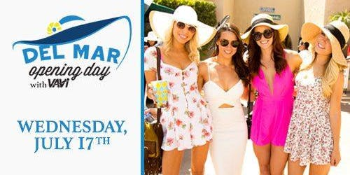 Party with VAVi at Del Mar Opening Day