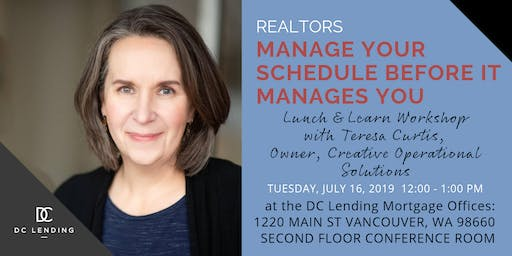 Realtors: Manage Your Schedule Before It Manages You