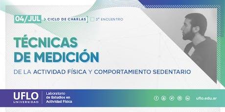 Ciclo de Charlas LEAF-UFLO · Técnicas de Medición de la Actividad Física entradas