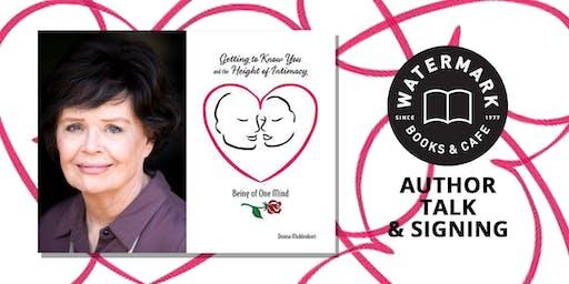 Donna Muhlenkort Author Talk & Signing