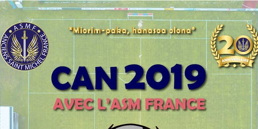 CAN 2019 ASM France