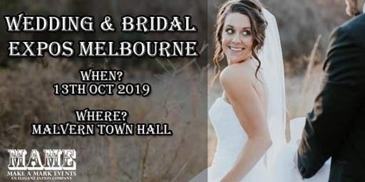 Wedding & Bridal Expo Melbourne - Malvern 2019