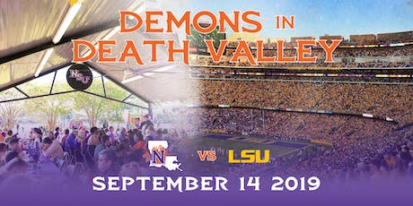 NSU vs LSU Game, Demons in Death Valley Tailgate, Tickets and Bus Trip tickets
