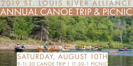 2019 Annual SLRA Canoe Tour & Community Picnic tickets