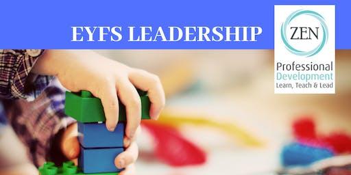 EYFS Leadership