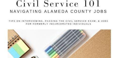 Navigating Alameda County Jobs: Civil Service 101Workshops tickets
