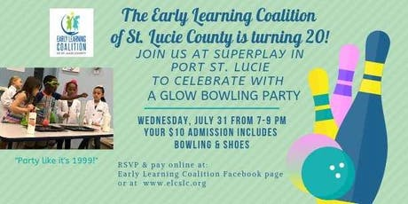 ELC Glow Bowling Birthday Party tickets
