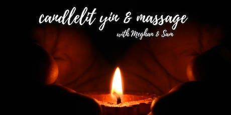 Candlelit Yin & Massage tickets
