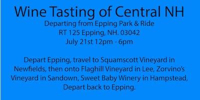 Wine Tour of Central NH, Squamscott, Flag HIll, Zorvino's, Sweet Baby