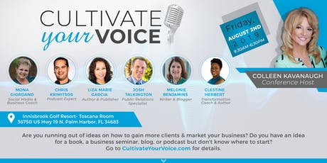 Cultivate Your Voice, A Personal & Professional Development Conference  tickets